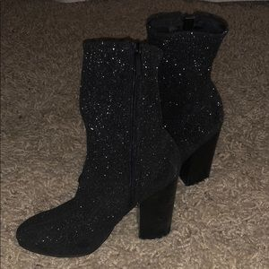 Kendall & Kylie Sparkley Sock Bootie